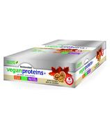 Boîte de barres de protéines végétaliennes fermentées Proteins+ à l'érable et aux noix de Grenoble de Genuine Health