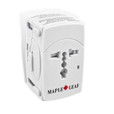 Maple Leaf Travel World-Wide Adapter Plug