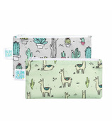 Bumkins Reusable Snack Bags Small Llama