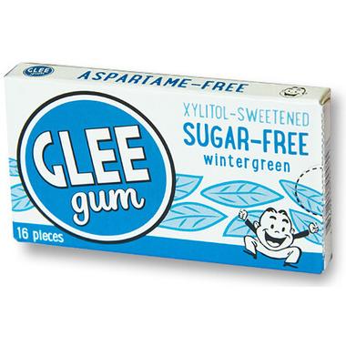 Glee Gum Sugar-Free Wintergreen Gum