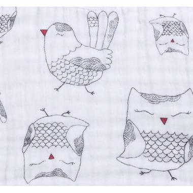 aden + anais Classic Stroller Blanket Lovebird