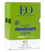 EO Deodorant Wipes Tea Tree