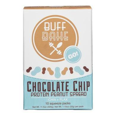 Buff Bake Peanut Butter Single Servings Chocolate Chip