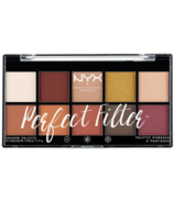 NYX Perfect Filter Shadow Palette Rustic Antique