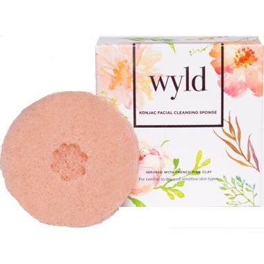 Wyld Skincare Konjac Sponge French Pink Clay
