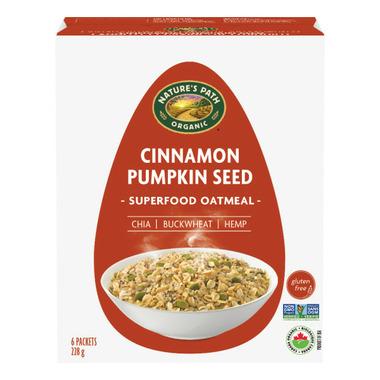 Nature\'s Path Qi\'a Gluten Free Oatmeal Cinnamon Pumpkin Seed