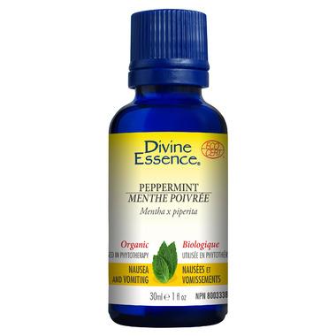 Divine Essence Peppermint Organic Essential Oil