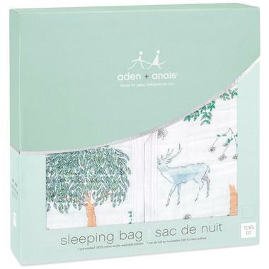 aden + anais Classic Sleeping Bag 1 Tog Forest Fantasy