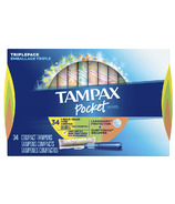 Tampax Pocket Pearl Triplepack Unscented Tampons