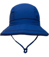Calikids Quick-Dry Bucket Hat Extra Wide Brim Nautical Blue