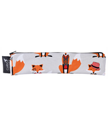 Colibri Reusable Snack/Straw Bag Wide Foxes