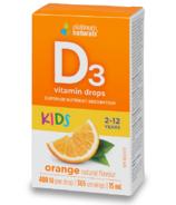 Platinum Naturals Kids Orange Vitamin D3 Liquid Drops