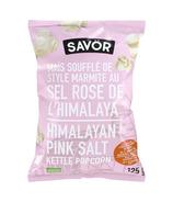 Savor Kettle Popcorn Himalayn Pink Salt