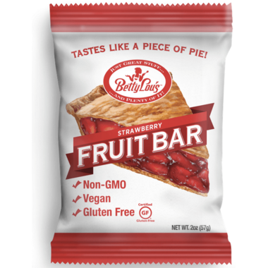 Betty Lou\'s Strawberry Fruit Bar