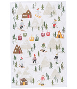 Now Designs Tea Towel Hit the Slopes