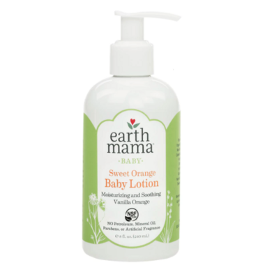 Earth Mama Organics Baby Sweet Orange Lotion