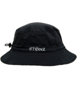 Stonz Bucket Hat Black 9M-6Y