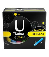 U by Kotex Click Regular Tampons