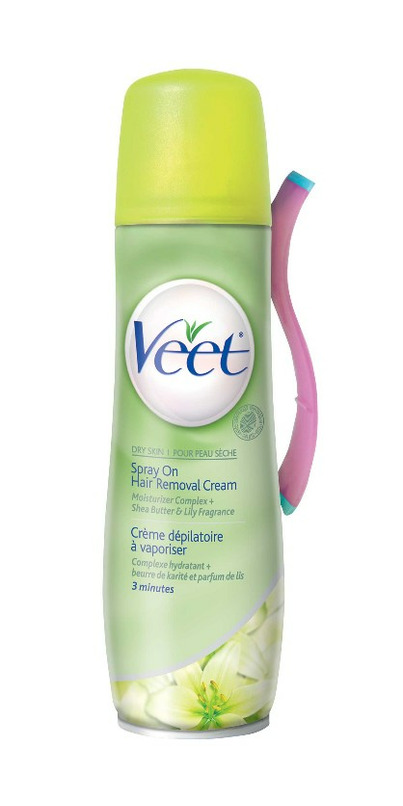 Buy Veet Spray On Hair Removal Cream At Well Ca Free Shipping