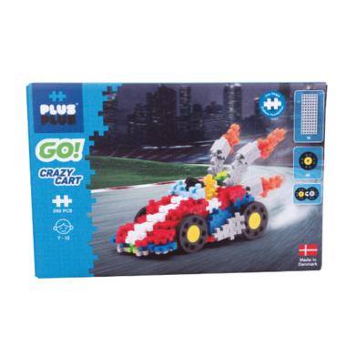 Plus-Plus GO! Crazy Cart