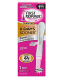 First Response Digital Pregnancy Test