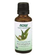 NOW Essential Oils Organic Eucalyptus Oil