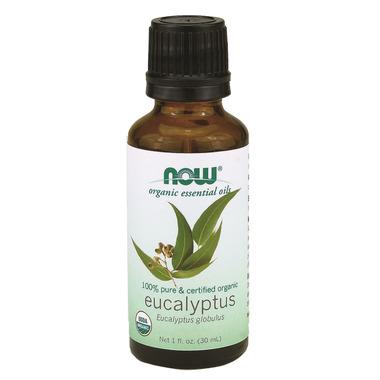 NOW Essential Oils Organic Eucalyptus Oil