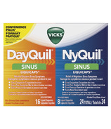 Vicks Dayquil Nyquil Sinus Combo Liquicaps