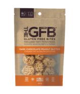The GFB Gluten Free Bites Dark Chocolate Peanut Butter