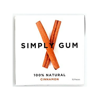 Simply Gum Cinnamon Natural Chewing Gum