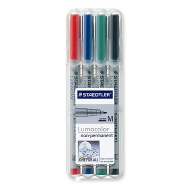Staedtler Lumocolour Non Permanent Medium Point Markers