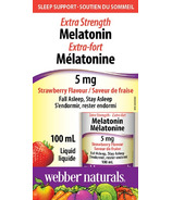 Webber Naturals Melatonin Extra Strength 5 mg
