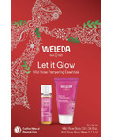 Weleda Let it Glow Wild Rose Pampering Essentials Kit