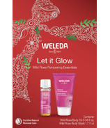 Weleda Let it Glow Wild Rose Pampering Essentials Kit