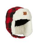 Kombi The Hip Aviator Junior Hat Red Buffalo Plaid