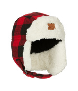 Kombi The Hip Aviator Junior Hat Red Buffalo Plaid