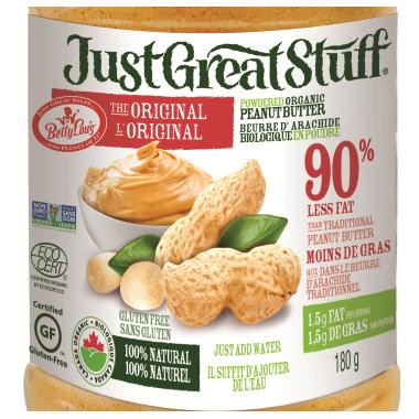 Betty Lou\'s Just Great Stuff Powdered Peanut Butter