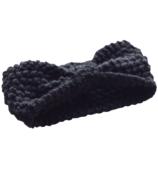 Mini Bretzel Warm Headband Black