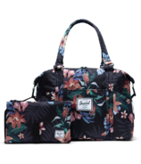 Herschel Supply Strand Sprout Tote Summer Floral Black