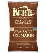 Chips au sel de mer Kettle