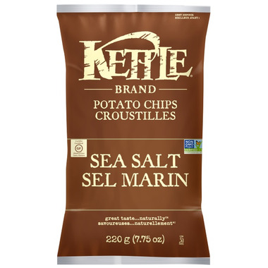 Kettle Sea Salt Potato Chips