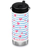 Klean Kanteen TKWide Bottle with Twist Cap Heart Stripe