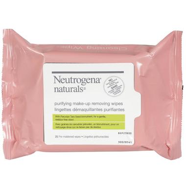 Neutrogena Naturals Purifying Make-Up Removing Wipes