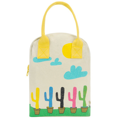 Fluf Zippered Lunch Cactus