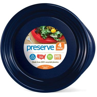 Preserve Everyday Plates Midnight Blue