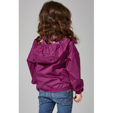 O8 Lifestyle Kid\'s Full Zip Packable Jacket Grape