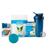 Fitness Lover Gift Bundle Blue
