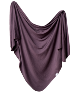 Copper Pearl Plum Swaddle Blanket