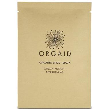 Orgaid Greek Yogurt & Nourishing Organic Sheet Mask