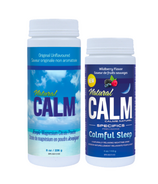 Natural Calm Magnesium Unflavoured + Wildberry Bundle